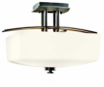 Kichler 42264AVI Brinbourne Semi-Flush Ceiling Light