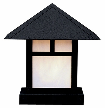 Arroyo Craftsman EC-16 Evergreen Craftsman Outdoor Pier Mount Light - 16 inches wide