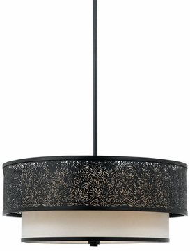 Quoizel UT2820K Utopia Three Light Pendant - 20 inches