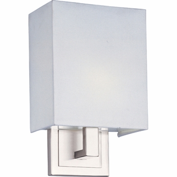 ET2 E2109001SN Edinburgh I Square Modern Wall Sconce - CFL