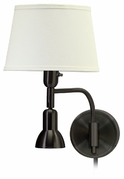 House of Troy LL623OB House of Troy Library Wall Swing Arm Lamp in Oil Rubbed Bronze