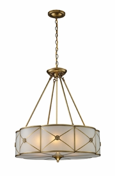 ELK 220016 Preston Duo-mount Chain Hung Pendant/Semi-flush Mount Ceiling Light