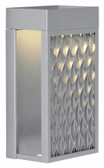 LBL Zari 11 Inch Tall LED Contemporary Exterior Sconce With Finish Options