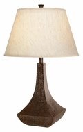 Kichler 70591 Missoula Hammered Bronze Ornate Table Lamp