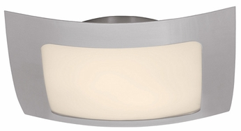 Access 50068 Argon Contemporary 3 Light Halogen Ceiling Fixture with Opal Glass