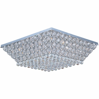ET2 E2400220PC Brilliant Modern Large 29-lamp Flush Mount Ceiling Light