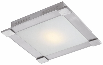 Access 50059 Carbon Contemporary 1 Light 16 inch Flushmount Ceiling Fixture