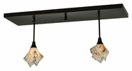 Meyda Tiffany 140985 Ramoscelli Handkerchief Contemporary 2 Lamp Kitchen Island Light