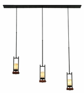 Meyda Tiffany 141352 Grand Terrace 72 Inch Wide Wrought Iron Modern Kitchen Island Light