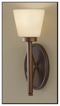 Feiss WB1571HTBZ Nolan 1-lamp Wall Sconce Light Fixture