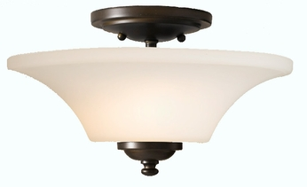 Feiss SF240 Barrington 2 Light 13 inch Semi Flush Ceiling Fixture