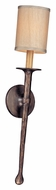 Troy B2901 Faulkner Short Bronze Wall Lamp