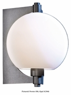 Hubbardton Forge 306603 Pluto 10 Inch Tall Outdoor Wall Light With Finish Options