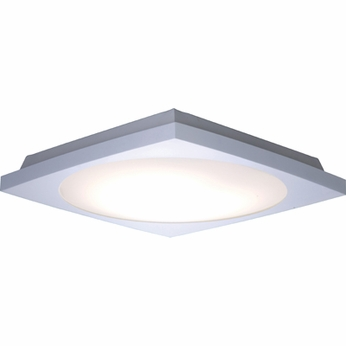 ET2 E2101010WT Anglex Small 2-light Fluorescent Flush Mount Ceiling Light