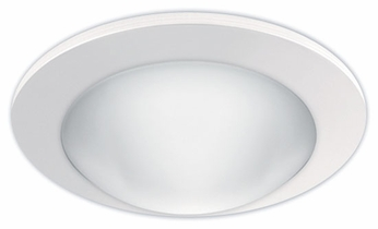 Liton LR924 4 Inch Line Voltage Contemporary Halogen Recessed Frosted Dome Trim