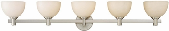 Hudson Valley 1405 Mercury Contemporary Halogen 5 Light Bath Fixture