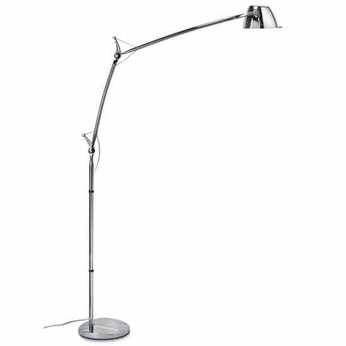 Zaneen D94007 Perceval Contemporary Swing Arm Floor Lamp