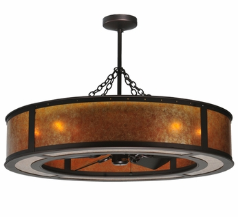 Meyda Tiffany 108445 Chandel-Air Smythe Craftsman Pendant Light
