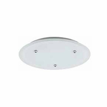 LBL CK003D 3-light Large 120V Canopy in Bronze, Glass, or Satin Nickel Finish