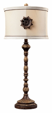 ponca 32 inch tall gramercy living room table lamp dim 93 10018. Black Bedroom Furniture Sets. Home Design Ideas