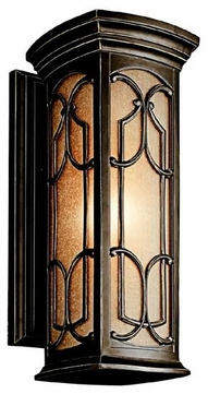 Kichler 49227OZ Franceasi 18  Outdoor Wall Sconce