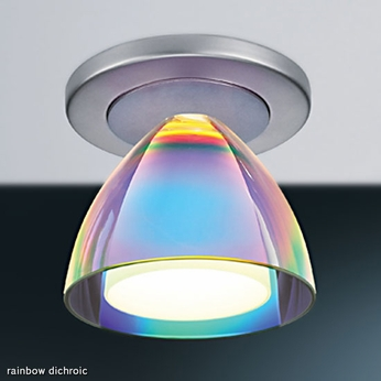 Bruck Rainbow II Dichroic Flush Mount Ceiling Light