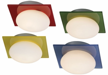 ET2 E22022 Buttons Contemporary Flushmount Ceiling Light