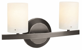 Access 63912 Zig-Classical 2-Light Bronze Contemporary Bathroom Light Fixture