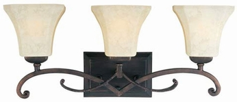 Maxim 21073FLRB Oak Harbor 3 Light Vanity Fixture