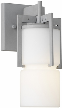 Forecast F8520-10 Weston Contemporary Outdoor Graphite Wall Fixture - 11 inches tall