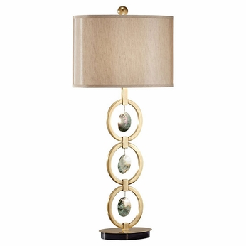 Feiss 10092DCBNSM Independents Natural Shell Table Lamp