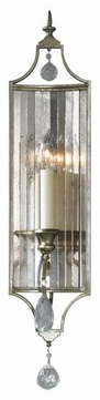 Feiss WB1447GS Gianna 1-Lamp Wall Sconce