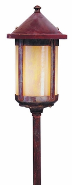 Arroyo Craftsman LV12-B6 Berkeley Outdoor Low Voltage Landscape Light - 21.25 inches tall