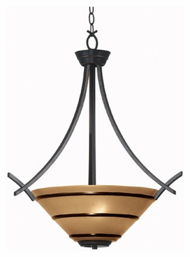 Kenroy Home 90084ORB Wright Pendant Light