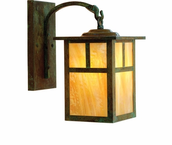 Arroyo Craftsman MB-6 Mission Craftsman Outdoor Wall Sconce - 10.375 inches tall