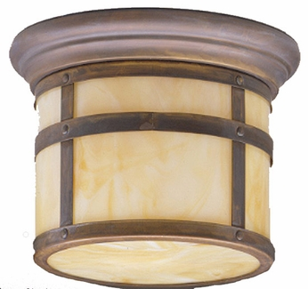 Kichler 9845CV Tularosa 13 Inch Outdoor Post Light