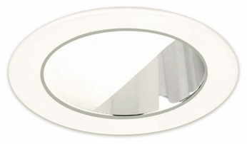 Liton LR935 4 Inch Line Voltage Contemporary Halogen Recessed Eyelid Wall Wash with Reflector Trim