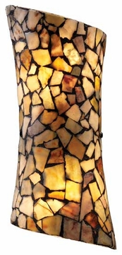 Landmark 600162 Trego Art Glass Wall Sconce