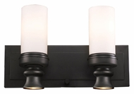 Landmark 66251-2-2 Newfield Oiled Bronze Finish 16 Inch Wide Bathroom Lighting