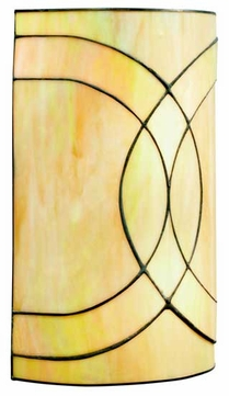 Kichler 69124 Spyro Art Glass Wall Sconce
