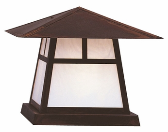 Arroyo Craftsman CC-15 Carmel Craftsman Outdoor Pier Mount - 15 inches wide