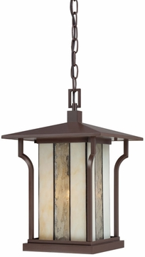 Quoizel LNG1911CHB Linea Transitional Hanging Lantern Outdoor Ceiling Light