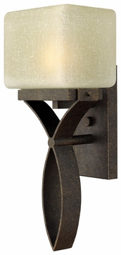 Hinkley 2034AM-GU24 Grayson Fluorescent 1-Light Modern Sconce - Autumn Color