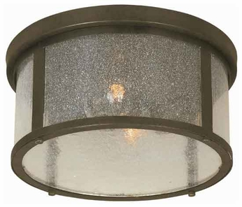 World Imports 6130706 Dark Sky Revere Closed Outdoor Flush-Mount Ceiling Light
