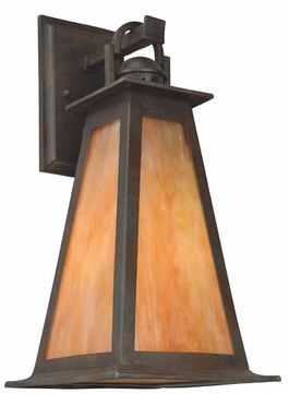 Troy B9883SBZ Lucerne Mission Outdoor Wall Lantern - 10 inches wide