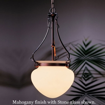 Hubbardton Forge 12-1025 Acharn Small Glass Foyer Light