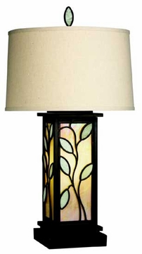 Kichler 60286 Tranquility Art Glass Table Lamp with Night Light