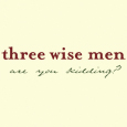 Three Wise Men Holiday Card