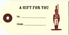 Soldier Gift Tags