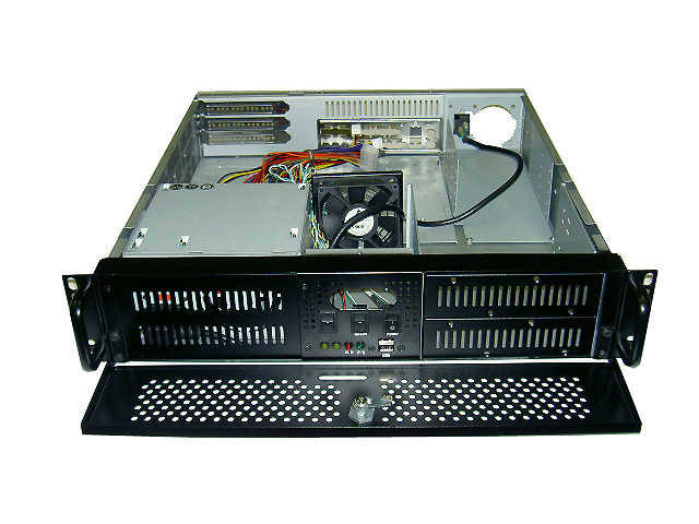 RM-2145 17.7in Deep 2U Rackmount Computer Case (fits PS2 Power Supply)